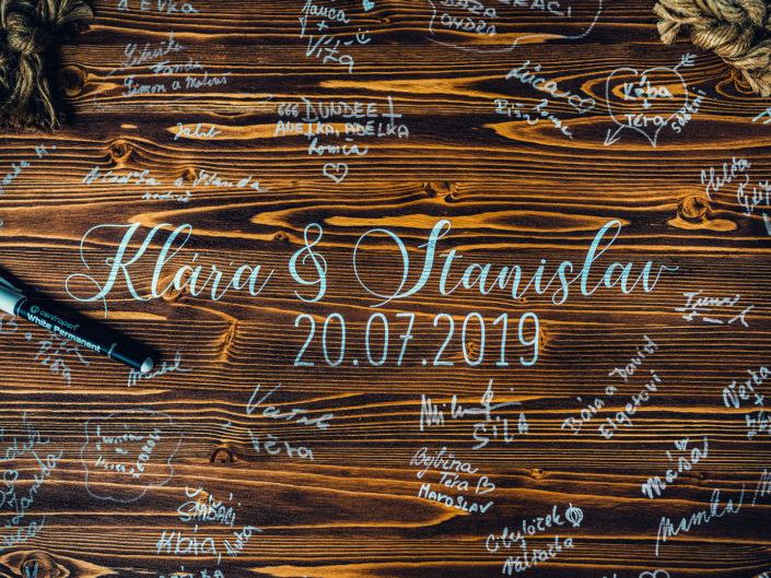 Klárka a Standa 20.7.2019